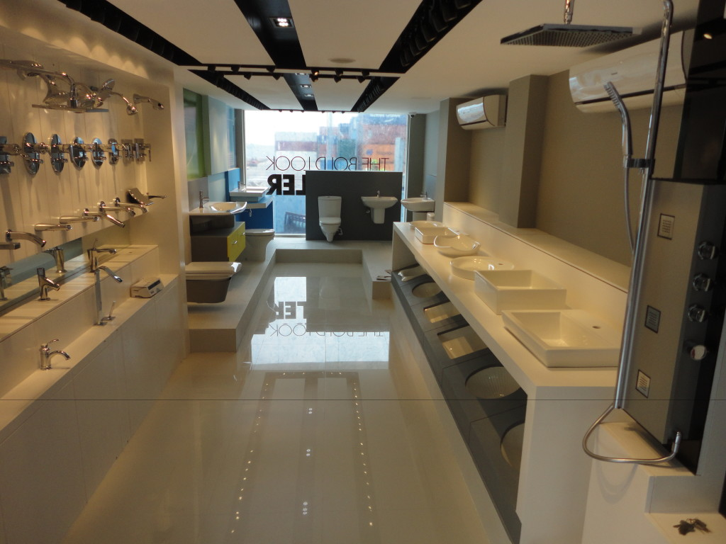 KOHLER Showroom | Alia Construction (Pvt) Ltd